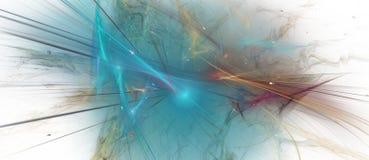 Κομψή κυανή fractal ανασκόπηση στοκ φωτογραφία με δικαίωμα ελεύθερης χρήσης