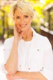 Κομψή μέση γυναίκα ηλικίας Στοκ Εικόνα
