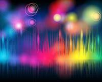 κομψή μουσική ανασκόπησης ελεύθερη απεικόνιση δικαιώματος