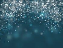 Κομψή μπλε ανασκόπηση Χριστουγέννων Στοκ φωτογραφίες με δικαίωμα ελεύθερης χρήσης