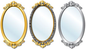 Κομψοί καθρέφτες Στοκ εικόνα με δικαίωμα ελεύθερης χρήσης