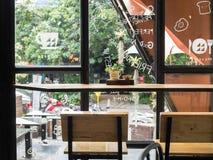 Κομψός καφές σε CHIANG MAI, ΤΑΪΛΆΝΔΗ στοκ εικόνα