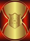 κομψός κόκκινος βασιλι&kapp ελεύθερη απεικόνιση δικαιώματος
