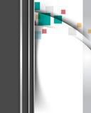 κομψός φουτουριστικός &al διανυσματική απεικόνιση