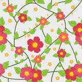 κομψός floral ανασκόπησης Στοκ εικόνες με δικαίωμα ελεύθερης χρήσης