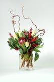 κομψός floral ντεκόρ στοκ εικόνες με δικαίωμα ελεύθερης χρήσης