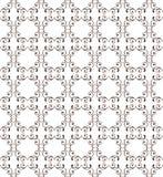 Κομψό άνευ ραφής σχέδιο με τις καρδιές Διακοσμητική διακόσμηση backdr Στοκ Φωτογραφία