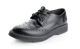 Κομψό αρσενικό παπούτσι Στοκ Φωτογραφίες