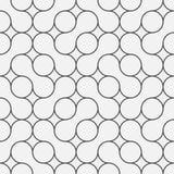 κομψό γεωμετρικό σχέδιο κύκλων για το σχέδιο και το υπόβαθρο, vecto Στοκ Φωτογραφία