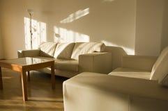 κομψό καθιστικό Στοκ φωτογραφίες με δικαίωμα ελεύθερης χρήσης