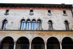 Κομψό και ιστορικό παλάτι στο Βιτσέντσα στο Βένετο (Ιταλία) Στοκ φωτογραφία με δικαίωμα ελεύθερης χρήσης