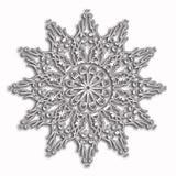 Κομψό και τρυφερό σχέδιο κύκλων δαντελλών Στοκ Εικόνες