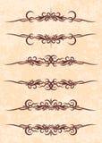 κομψό κείμενο πλαισίων Στοκ Φωτογραφίες