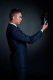 κομψό κοστούμι παπουτσιώ&n στοκ φωτογραφία με δικαίωμα ελεύθερης χρήσης