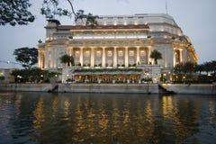 κομψό ξενοδοχείο στοκ φωτογραφία