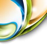 κομψό πολύχρωμο διάνυσμα eps1 διανυσματική απεικόνιση