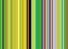 Κομψό πράσινο χρυσό μπλε ρόδινο αφηρημένο υπόβαθρο γραμμών watercolor Στοκ εικόνα με δικαίωμα ελεύθερης χρήσης