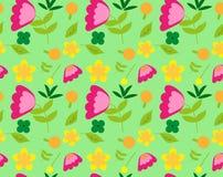 κομψό πρότυπο λουλουδι Στοκ Φωτογραφίες