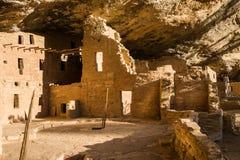 Κομψό σπίτι δέντρων στο εθνικό πάρκο Mesa Verde στοκ φωτογραφίες με δικαίωμα ελεύθερης χρήσης