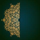 Κομψό υπόβαθρο με τη διακόσμηση δαντελλών Στοκ Φωτογραφία
