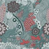 Κομψό floral σχέδιο Στοκ Φωτογραφίες
