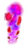 κομψό fractal ανασκόπησης Στοκ φωτογραφία με δικαίωμα ελεύθερης χρήσης