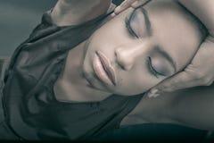 κομψό makeup Στοκ φωτογραφία με δικαίωμα ελεύθερης χρήσης