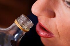 κονιάκ αλκοόλης κατάχρησ στοκ φωτογραφίες με δικαίωμα ελεύθερης χρήσης