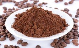 Κονιοποιημένος καφές στοκ φωτογραφία