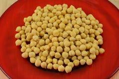 Κονσερβοποιημένα garbanzo φασόλια ή chickpeas στοκ εικόνες