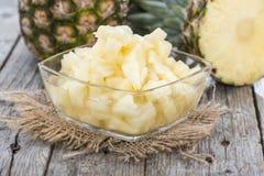 Κονσερβοποιημένος ανανάς στοκ εικόνα