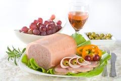 κονσερβοποιημένο κρέας Στοκ εικόνα με δικαίωμα ελεύθερης χρήσης