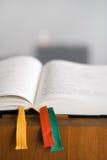 κονσόλα Βίβλων ανοικτή Στοκ εικόνα με δικαίωμα ελεύθερης χρήσης