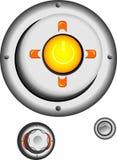 κονσόλα κουμπιών Στοκ Εικόνα
