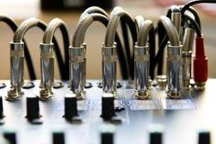 κονσόλα που αναμιγνύει τον ήχο Στοκ φωτογραφία με δικαίωμα ελεύθερης χρήσης