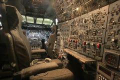Κονσόλα του μηχανικού πτήσης Στοκ φωτογραφία με δικαίωμα ελεύθερης χρήσης