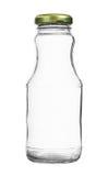 Κοντά μπουκάλια γυαλιού με την ΚΑΠ που απομονώνεται στο άσπρο υπόβαθρο στοκ εικόνες