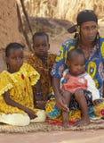 Οικογένεια Fulani Στοκ φωτογραφία με δικαίωμα ελεύθερης χρήσης