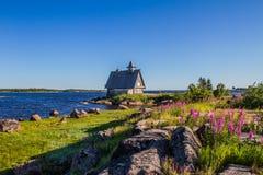 Κοντά στην άσπρη θάλασσα Στοκ Φωτογραφίες