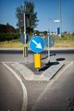 κοντά στην κατακόρυφο σημά& Στοκ εικόνες με δικαίωμα ελεύθερης χρήσης