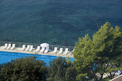 κοντά στη θάλασσα λιμνών Στοκ φωτογραφίες με δικαίωμα ελεύθερης χρήσης