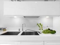 κοντινά λαχανικά καταβοθρών στροφίγγων Στοκ Φωτογραφίες