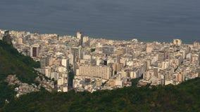 Κοντινή παραλία Copacabana περιοχής Copacabana Στοκ Φωτογραφίες