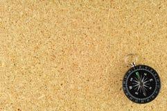 κοντραπλακέ πυξίδων καμβά Στοκ εικόνες με δικαίωμα ελεύθερης χρήσης