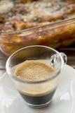 Κοντός καφές espresso Στοκ Εικόνες