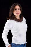 κοντόχοντρη γυναίκα Στοκ φωτογραφία με δικαίωμα ελεύθερης χρήσης