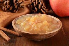 Κοντόχοντρη σάλτσα μήλων Στοκ Εικόνα