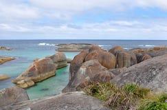 Κοπάδι των βράχων ελεφάντων Στοκ εικόνα με δικαίωμα ελεύθερης χρήσης