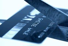κοπή καρτών Στοκ Φωτογραφία