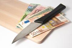 κοπή προϋπολογισμών Στοκ εικόνες με δικαίωμα ελεύθερης χρήσης